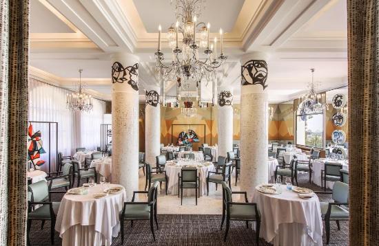 Hotel Belles Rives : Restaurant La Passagère - Terrace