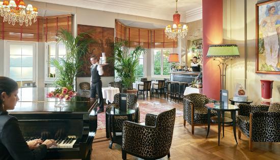 Hotel Belles Rives : Bar Fitzgerald