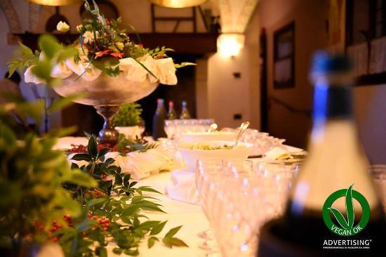 La Tavernetta di Villa Tacchi: La Tavernetta ristorante certificato Vegan OK