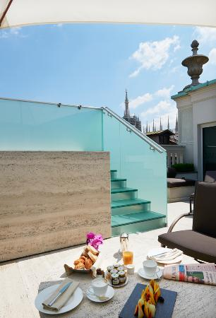 Park Hyatt Milan: Duomo Suite_terrace