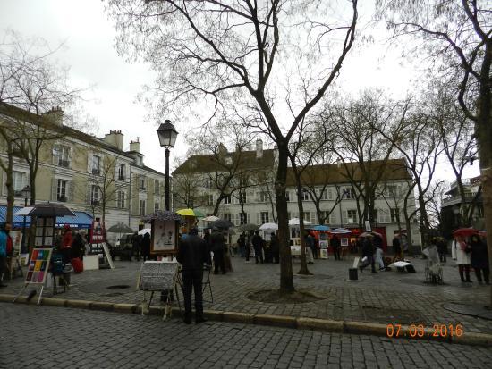 Paris, France : Place du Tertre