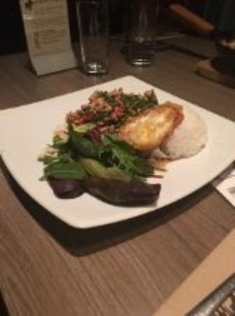 Thai Upon Thames: KAOW KRA-PAOW KAI (Chicken with Chilli & Basil)