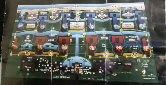 Hard Rock Punta Cana Map