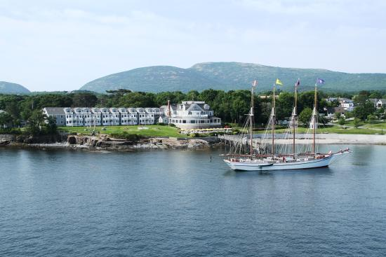 Bar Harbor Inn: View from Frenchman Bay