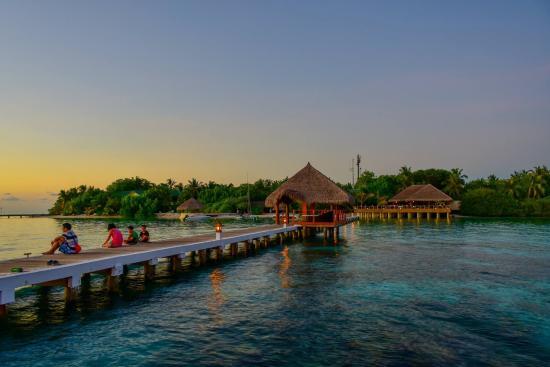 Eriyadu Island Resort: Jetty