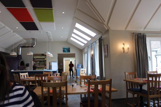 Stowmarket, UK: the restaurant before it started to fill up