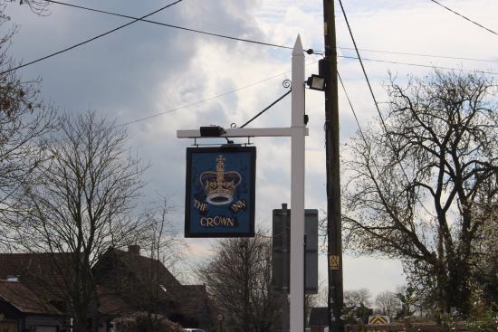 Stowmarket, UK: the sign