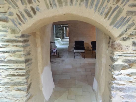 Hebecrevon, Francja: Un long couloir pour divers choix de relaxation. Génial