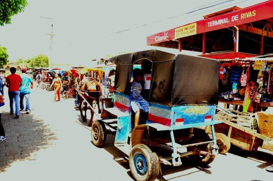 San Juan del Sur, Nicaragua: Mercadkillo en Rivas.Pueblo tipico. Encantador
