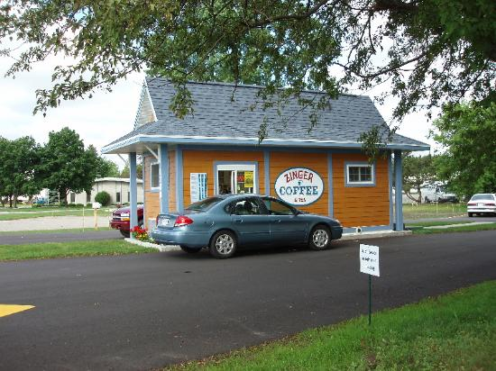 Marinette, WI: Zinger Coffee and Tea