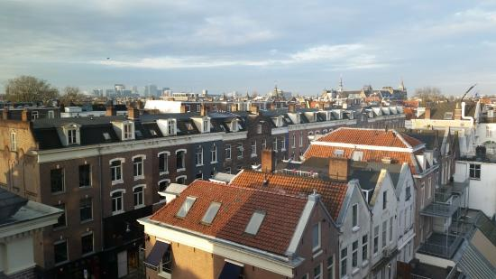 Park Hotel Amsterdam: The view from our room over the rooftops of Amsterdam
