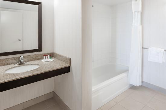 Ramada Edmonton Hotel & Conference Centre: Executive Room Washroom