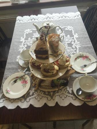 Allonby, UK: One our afternoon tea's