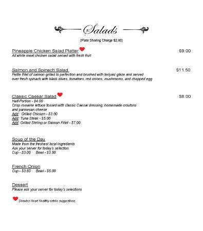 Hertford, NC: Lunch Menu_Page3