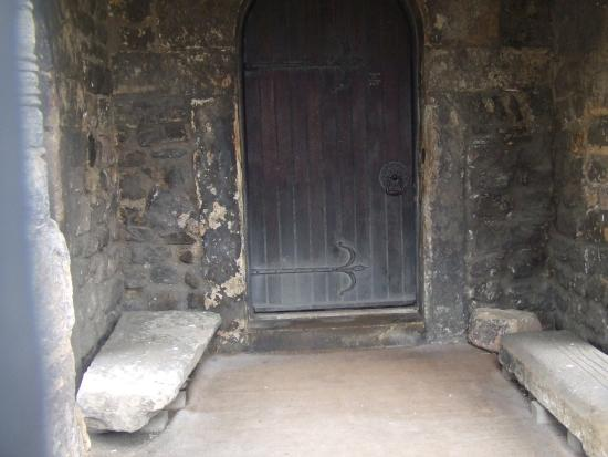 St Peter's Church: The old saxon entrance to the Church