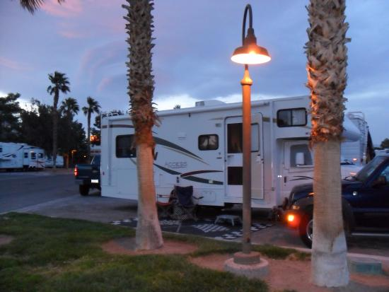Las Vegas KOA at Sam's Town: RV SPOT AT KOA AT SAM TOWN