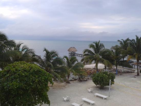 Anchorage Beach Resort: view from our balcony