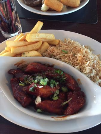 Bar West: Our lunch