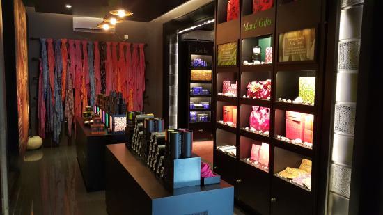 Spa Ceylon: écharpes e produtos com embalagens lindas