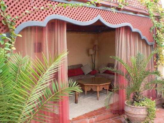 Riad Dar Zahia: Terrace