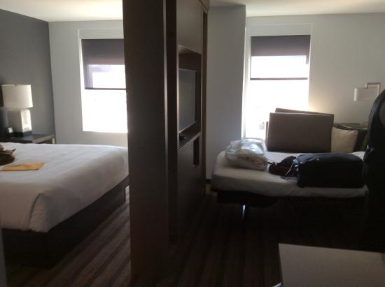 king size bed and pull out sofa bed are comfortable very clean tv rh tripadvisor com