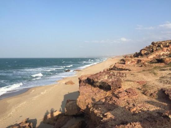 Areia Branca: praia