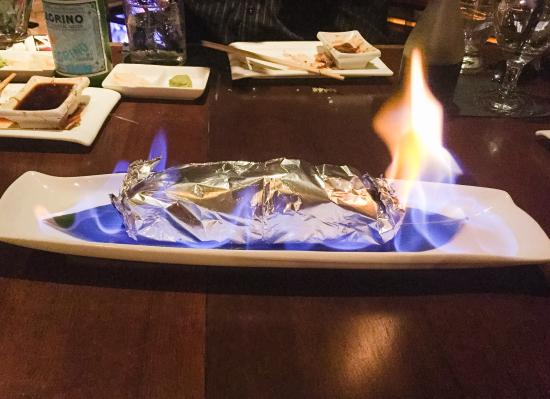 Azuma on the Lake: Sushi, Sashimi, & Fire Roll
