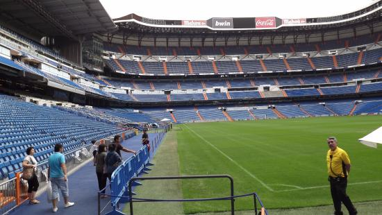 estadio santiago bernabeu photo de stadio santiago
