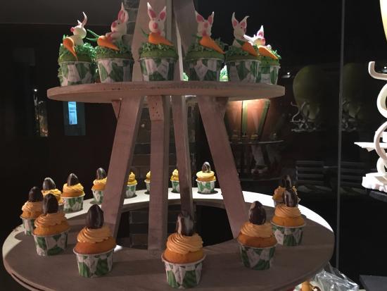 Atolón sur de Malé: Muffins am Osterbuffet