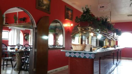 El Potro Mexican Restaurant: The buffet and front dining room