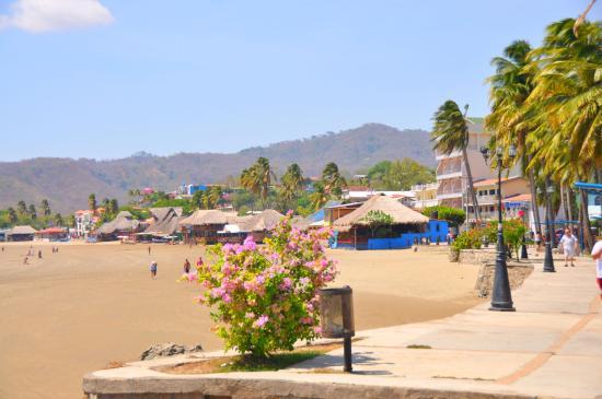 Pseo maritimo. San Juan del Sur