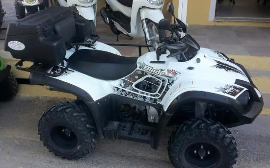 atv tgb blade 325 cc photo de mike 39 s bikes perissa tripadvisor. Black Bedroom Furniture Sets. Home Design Ideas