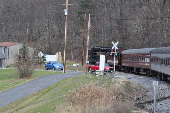 Western Maryland Scenic Railroad: on the way