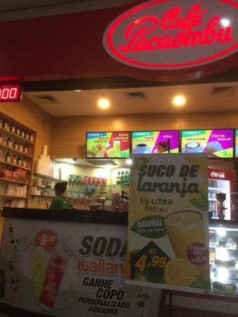 Cafe Pacaembu Shopping Jaragua