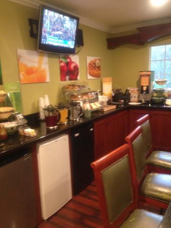 Ben Lomond, Califórnia: Pleasant Breakfast Room