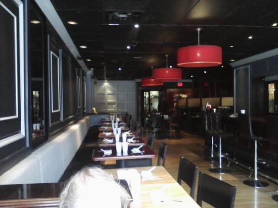 Interior Of Restaurant Picture Of Red Chinese Bistro