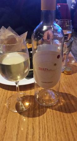 Irregardless Cafe: Free Bottle of Wine for Celebrating Our Anniversary
