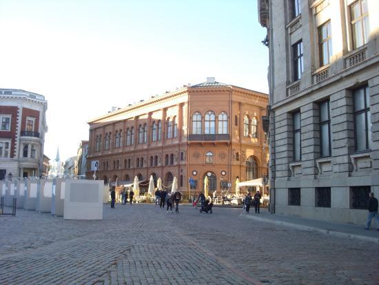 Art Museum Riga Bourse Aufnahme