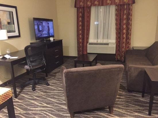 Saint Marys, بنسيلفانيا: Suite sitting area