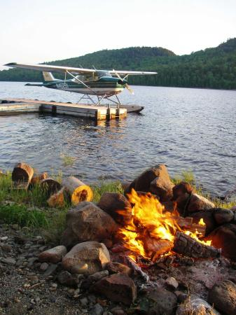 Ashland, ME: All waterfront cabins, on a pristine remote lake