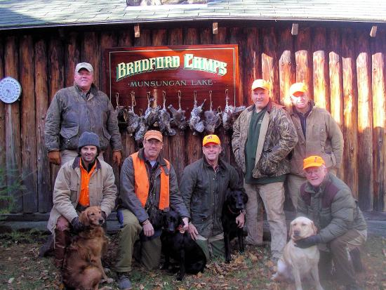 Ashland, ME: Millions of acres of bird hunting