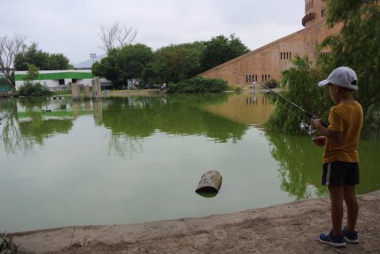 Parque Ninos Heroes: Pesca en el lago