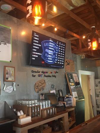 tap room menu picture of greenport harbor brewing co peconic rh tripadvisor com