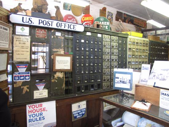 Valle Crucis, Carolina del Nord: Working post office