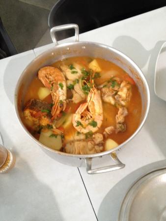 Paul do Mar, Portugalia: Local speciality for two, the caldeira!