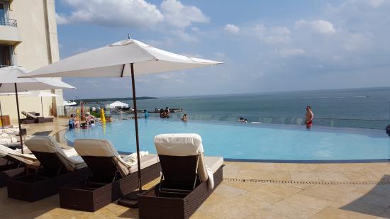 infinity pool picture of hyatt regency trinidad port of spain rh tripadvisor com