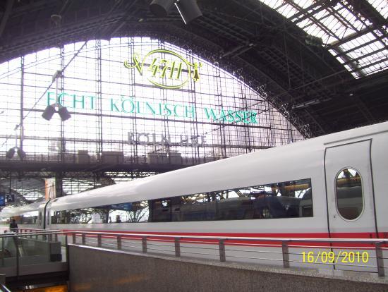 París, Francia: Estação de trem