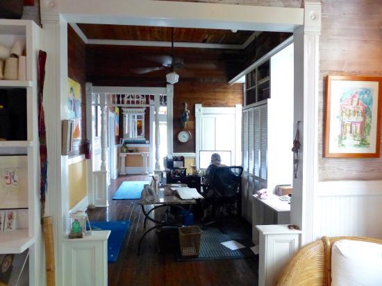 reception area hi jodi picture of key west bed and breakfast rh tripadvisor in