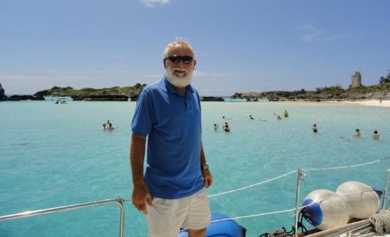 Hamilton, Islas Bermudas: captain Mike