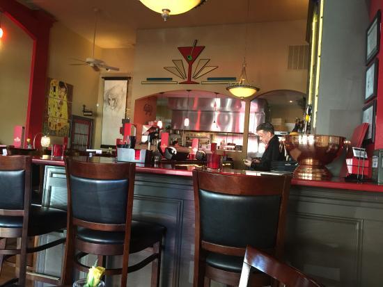 cool retro inspired interior picture of red martini wine bar rh tripadvisor co za